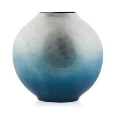 Ceramic Sphere Vase, 19cm x 41cm