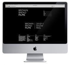 Brown Bread Website- Workshop Graphic Design & Print - Leeds, West Yorkshire #website #grid #mono