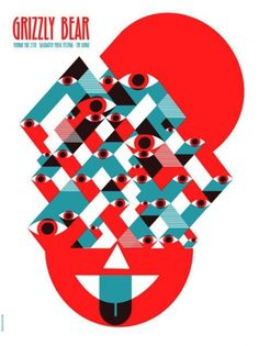 OMG Posters! » Archive » New Art Prints and Concert Posters by Dan Stiles #music #geometric