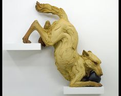 Beth Cavener Stichter- Choleric: too much yellow bile, irritable, hostile, bitter #art #sculpture #bethcavenerstitchner