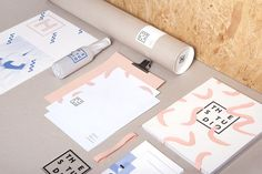 The Studio branding #branding #visual identity #graphic design #stationery