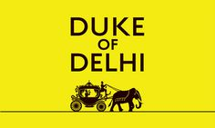 Duke of Delhi packaging design #packaging #india #design #delhi #royal #brand #art