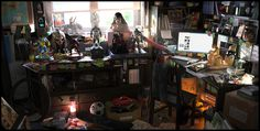 Geek Room by Oscar Perez Ayala | Realistic | 3D | CGSociety #geek #room