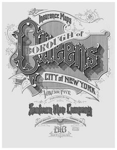 sanborn-maps-new-york-1903-queens-large.jpg (560×720) #design #label #monogram #vintage #type #typography