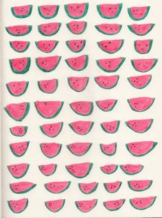 pattern, melon, fruit, pattern, illustration #illustration #pattern #fruit #melon