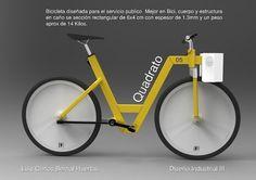 Quadrato by Luis Carlos Bernal at Coroflot #mountain #bicycle #public #argentina #design #desgin #bike