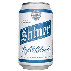 Shiner Light Can #beer #can