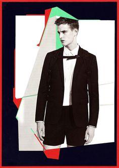 Catalogue de Paris_1 by paulobrandaomelo.com #paris #sandro #color #graphic #shapes #catalogue #fashion #collage #paper #berlin