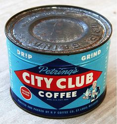 Design You Trust #coffee #retro #can