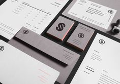 "Jonathan Shackleton   |   http://jshackleton.co.uk ""Personal identity and self promotion consisting of a simple, structured logo and v #branding #print #identity #collateral #logo"
