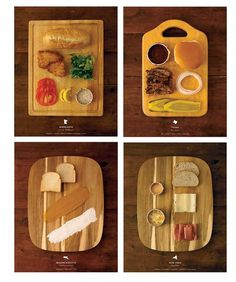 W&D Loves: Stately Sandwiches | { wit + delight } #photo #yellow #food #illustration #organized
