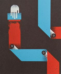 FFFFOUND! | Product Feature: Print & Production Poster | Inksie Journal of Design & Culture #illustration