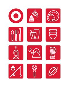 Target Icons Ty Wilkins #icons #pictogram