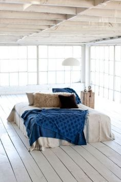 Open Loft #bedroom
