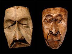 Futuristic Toilet Paper Roll Faces by Junior Fritz Jacquet