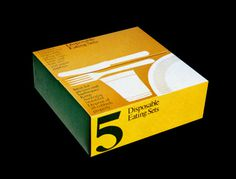Item 72: Disposable Eating Sets #packaging