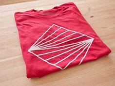 Horizon Tee by Ugmonk #tshirt #tee #red #horizon