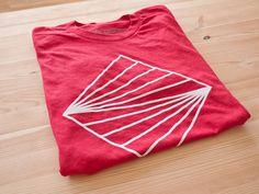 Horizon Tee by Ugmonk #horizon #tshirt #tee #red