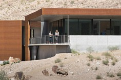 Arroyo House is a Sustainable Desert Home in Southern Nevada