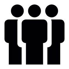 See more icon inspiration related to social, forum, people, users, standing, stand up and groups on Flaticon.