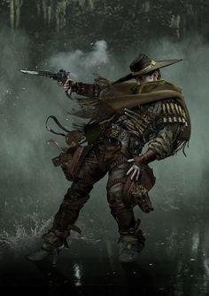 character 03 #character #3d #cowboy