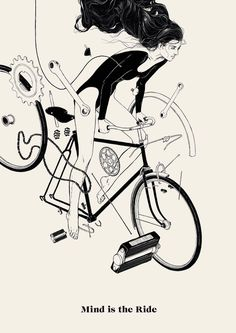 #bicycle #book #illustration #cycling #ride