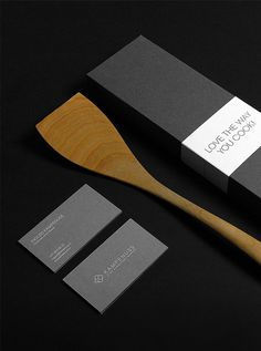 Kampenuss #business #packaging #card #grayscale #kitchen #identity #gray #logo #layout #bw