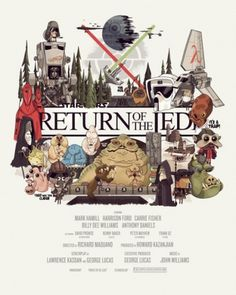 NiceFuckingGraphics! #jedi #of #wars #the #star #return #poster