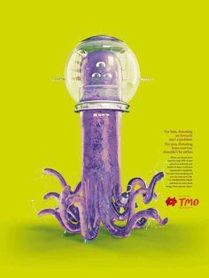 TMO - Bone Marrow Transplant Institute: Tentacle #alien #poster