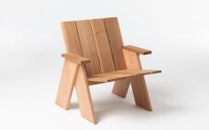 Patio Chair by Daniel Schofield