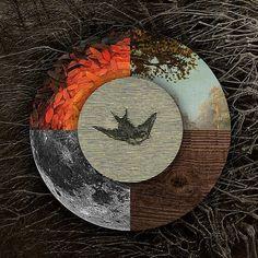 Autumn Hymns - Designers.MX #album #lunar #wood #nature #art #mix #moon