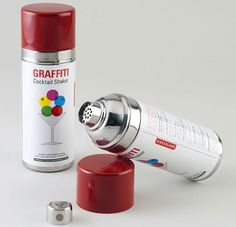 Fancy - Graffiti Cocktail Shaker #cocktail #graf