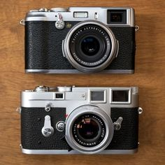 Most ExeRent bRog, Fuji X100 vs Leica M3 rossmillar:
