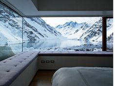 antonia magdalena #interior #design #snow #deco #window #mountains #decoration