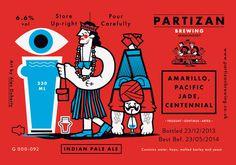 Partizan Brewing IPA G000 092 #brewery #partizan