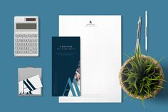 Ashfield Accountancy branding and stationery, made by Redspa