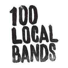 "Fran Efless  |  http://franefless.com""During 100 days, I will write or draw a handmade lettering for 100 local bands I have seen in t #type #lettering #hand #typography"