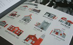 Housing Illustrations #illustration #color #buildings