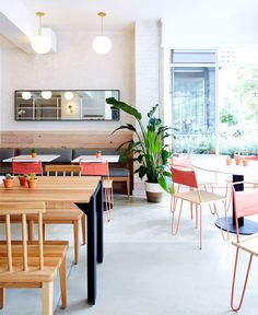 Dig Inn Boston Restaurant Decor by ASH NYC - InteriorZine