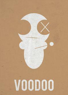 VooDoo by Giulia Zorzetto #voodoo #poster