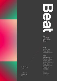 Beat festival Poster — marindsgn | Flickr Photo Sharing!