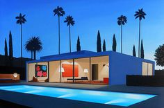 Architectural Paintings by Tom McKinley #painting