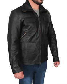 Breaking Bad Aaron Paul Leather Jacket (5) F-R
