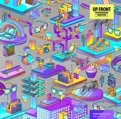 MTV UPFRONT 2013 on Behance