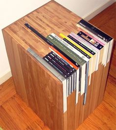 Friday Inspiration 47 | Jared Erickson #table #books