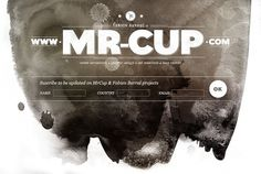 Graphic-ExchanGE - a selection of graphic projects #type #cup