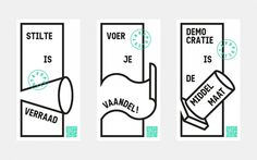 Populista - Bauke van der Laan #layout #illustration