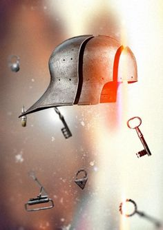 saledfon_.png (изображение «PNG», 566x800 пикселов) #sallet #armour #poster #medieval