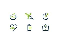 Matcha - Health Benefits Icons