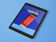 MUSTER, ISSUE #01 DESIGN MAGAZINE FOR IPAD
